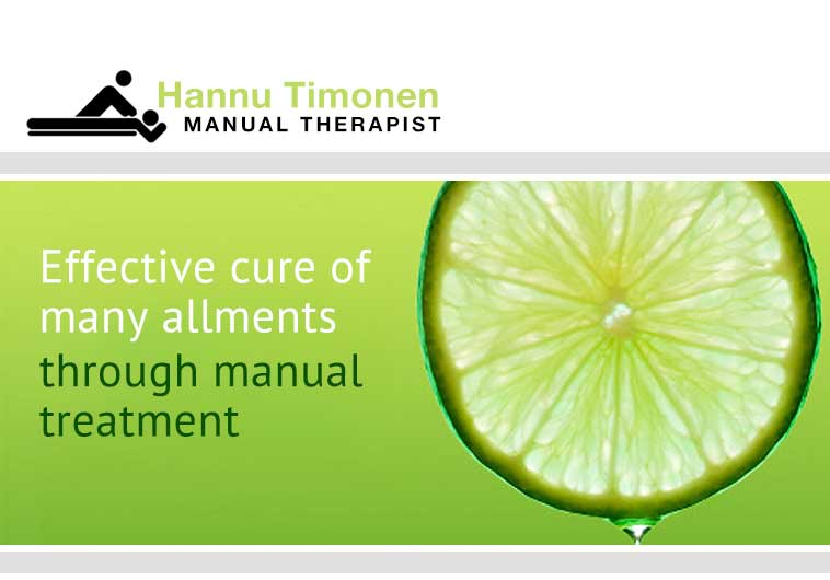 Effective cure of many ailments through manual treatment